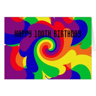 Happy 100th Birthday Card