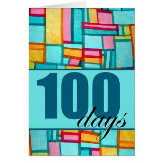 Happy 100th Day, Korean Baek-il Birthday for Boy Greeting Card
