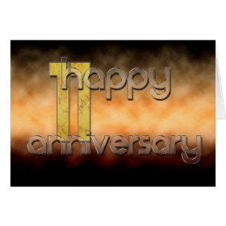 Happy 11th Anniversary (wedding anniversary) Card