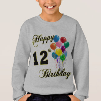 Happy 12th Birthday T-Shirt