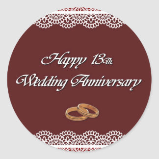 13th Wedding Anniversary Gifts and Gift Ideas