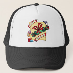 Happy 17th Birthday Gifts Trucker Hat