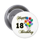 Happy 18th Birthday Gifts 6 Cm Round Badge