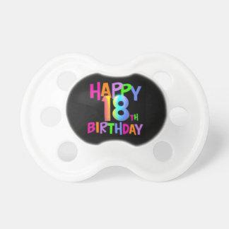 HAPPY 18TH BIRTHDAY MULTI COLOUR DUMMY