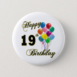 19th Birthday Balloons Accessories