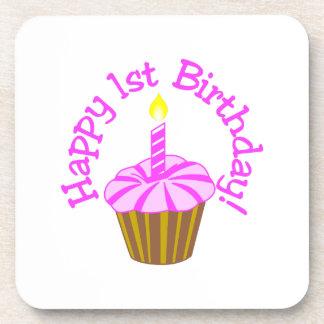 Happy 1st Birthday Coasters
