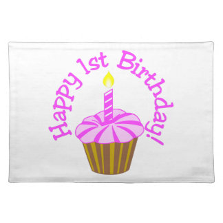 Happy 1st Birthday Placemat