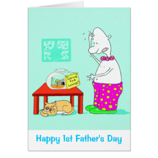 Happy 1st Father s Day Card