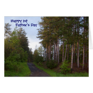 Happy 1st Father s Day Greeting Cards