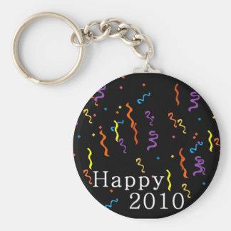Happy 2010 New Years Keychain