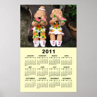 Happy 2011 Calendar ... Thailand Poster