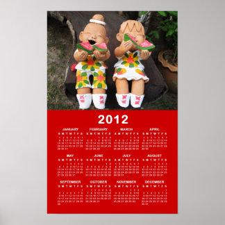 Happy 2012 Calendar ... Thailand Poster