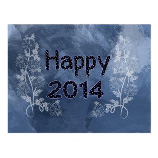 Happy 2014 postcard