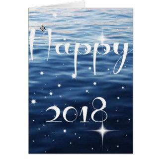 Happy 2018 card