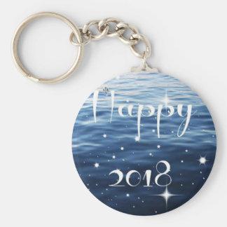 Happy 2018 key ring