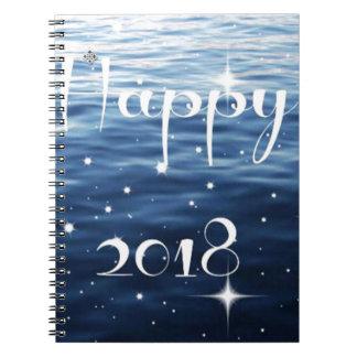 Happy 2018 notebook