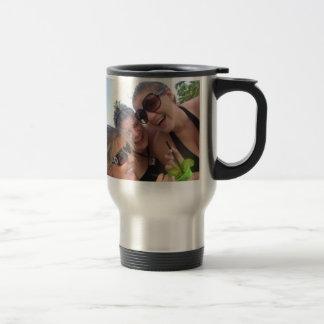 Happy 21st! travel mug