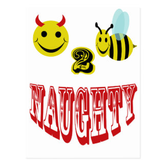 happy 2 bee naughty post cards