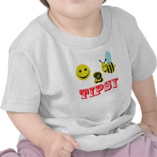 happy 2 bee tipsy tee shirt