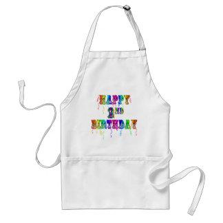 Happy 2nd Birthday Toddler Birthday Gifts Apron