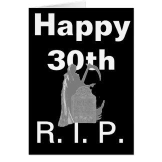 Happy 30th card