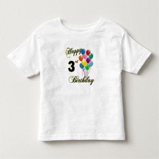 Happy 3rd Birthday Shirts and Birthday Apparel