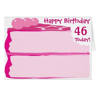 Happy 46th Birthday Card