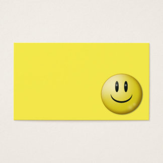 happy-4760 SMILIES EMOTICONS happy yellow super sm Business Card