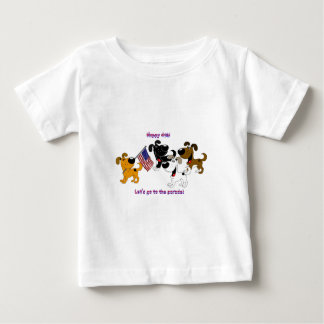 Happy 4th! Let's go to the parade! Tees