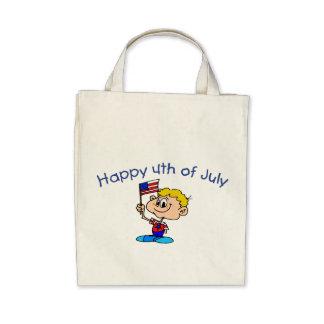 Happy 4th Of July (Boy) Bags