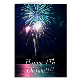 Happy 4Th Of July!!!! Card