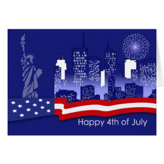 Happy 4th of July. Customizable Greeting Cards Greeting Card