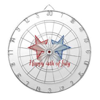 Happy 4th of July Dartboard