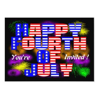 Happy 4th of July Invitation