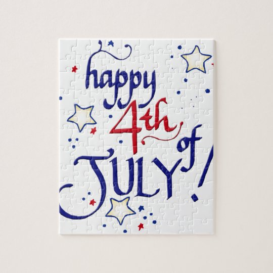 Happy 4th of July Jigsaw Puzzle