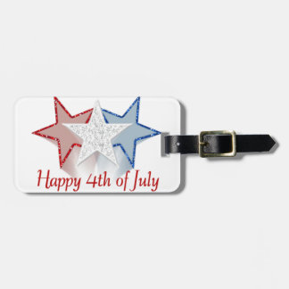 Happy 4th of July Luggage Tag