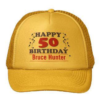 Happy 50th Birthday Cap