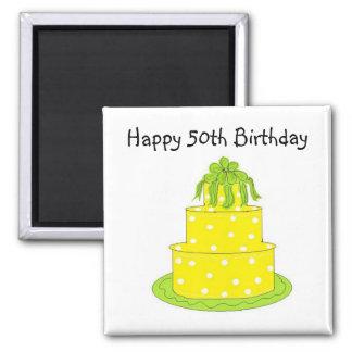Happy 50th Birthday Magnet