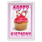 Happy 50th Birthday sweet cup cake Card