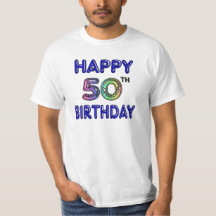 Happy 50th Birthday T Shirts Hoodies And Tanks