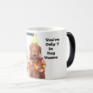 Happy 50th Funny Birthday Dog Mug