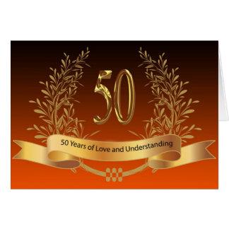 Happy 50th Wedding Anniversary Cards