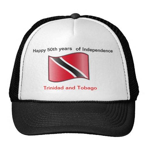 Happy 50th years Trinidad and Tobago Cap Hats