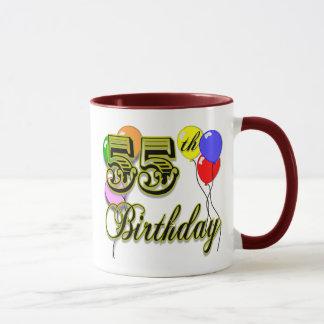 Happy 55th Birthday Celebration Mug