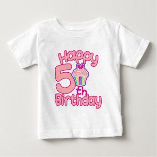 Happy 5th Birthday! Baby T-Shirt