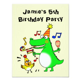 Happy 5th Birthday ( I am 5 ) Custom Announcement