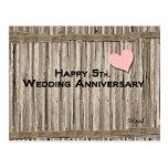 Happy 5th. Wedding Anniversary