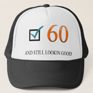 Happy 60th Birthday Trucker Hat