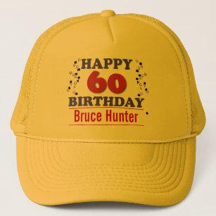 Happy 60th Birthday Trucker Hat