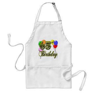 Happy 65th Birthday Merchandise Standard Apron